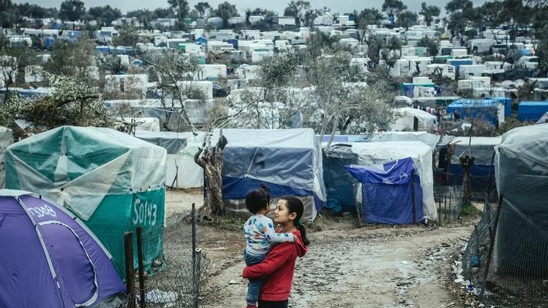 Lesbos: Wachsende Angst, Unsicherheit und Wut – und jetzt auch noch der Coronavirus (Video)