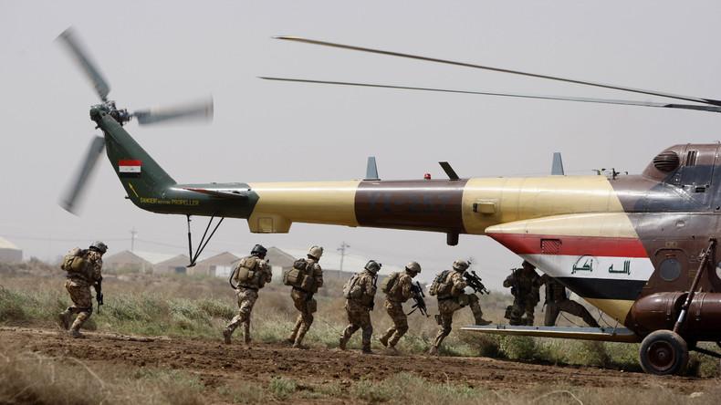 USA ziehen Truppen von kleineren Stützpunkten im Irak ab