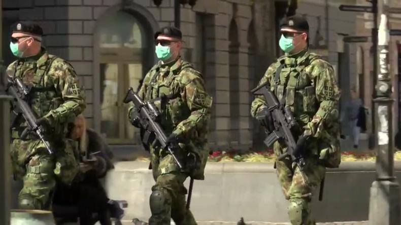 Serbien führt wegen COVID-19 landesweite Ausgangssperre ein – Armee in den Strassen