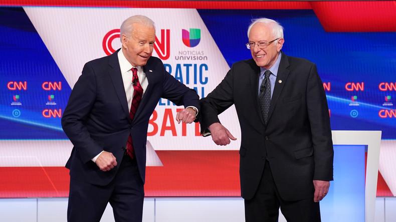 Vorwahlen der US-Demokraten: Biden in drei weiteren Staaten klar vorn – Sanders verliert Anschluss