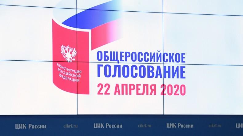 Russen stimmen am 22. April über Verfassungsänderungen ab – falls COVID-19 dies nicht verhindert