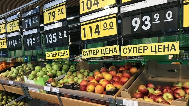 Moskau: Supermärkte noch gut bestückt, Lage relativ entspannt (Video)