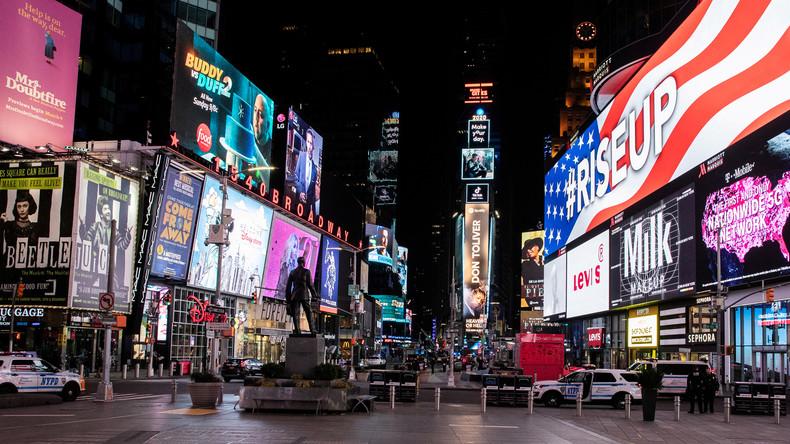 Steigende Infektionen: New York wird US-Zentrum in Corona-Krise