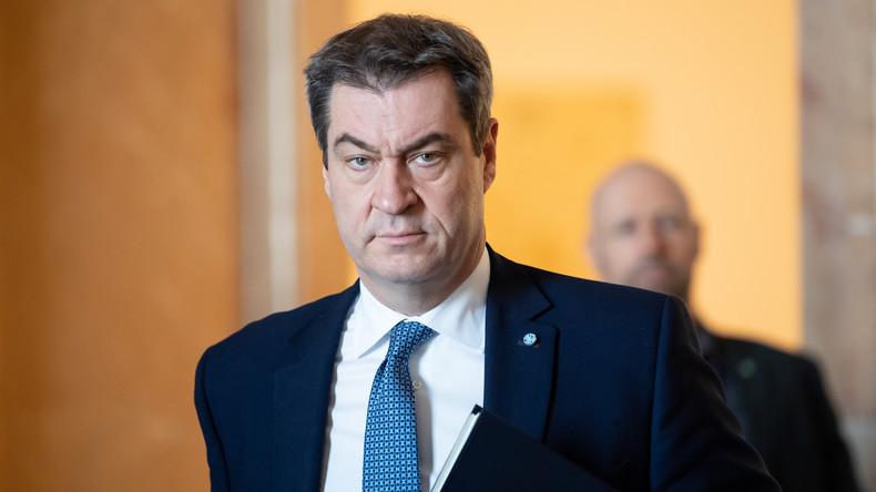 LIVE: Markus Söder kündigt wegen Corona-Krise neue Einschränkungen für Bayern an