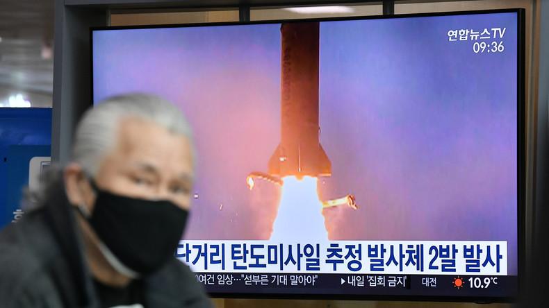 Nordkorea soll wieder Raketen getestet haben