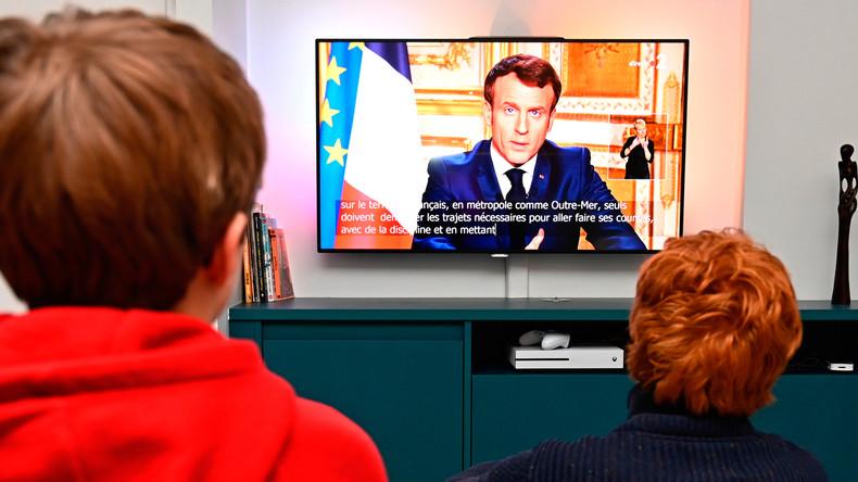 13 Prozent Zugewinn bei den Umfragen – Macron profitiert von Umgang mit Corona-Krise