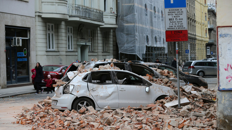 Kroatien: Erdbeben erschüttert Zagreb – viele Verletzte und schwere Schäden
