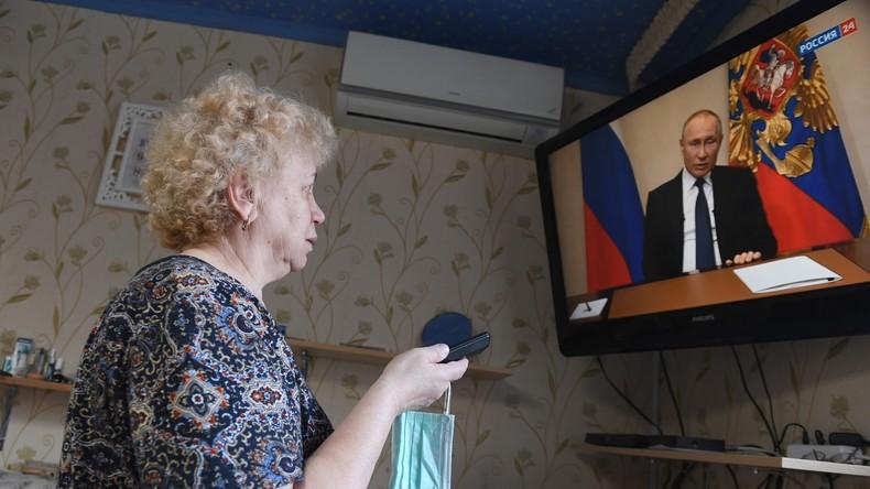 """Russlands Präsident erläutert Maßnahmen gegen Ausbreitung des Coronavirus: """"Es kann jeden treffen"""""""