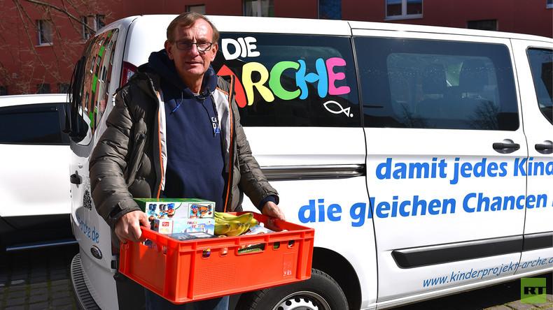 """""""Bernd, ich habe Hunger"""" – Corona-Krise macht Kinderprojekt """"Die Arche"""" zu schaffen (Video)"""