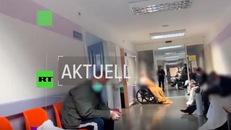 Coronavirus: Video belegt dramatische Lage in Madrids Krankenhäusern