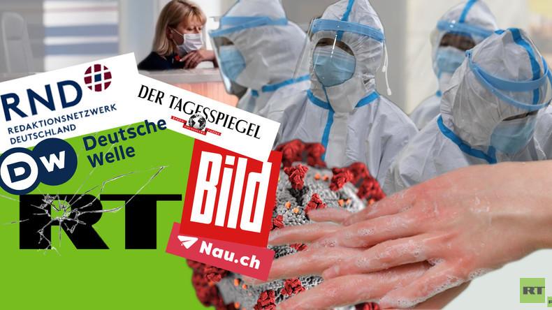 """""""RT Deutsch instrumentalisiert die Corona-Krise"""": Die Vorwürfe gegen RT im Faktencheck"""