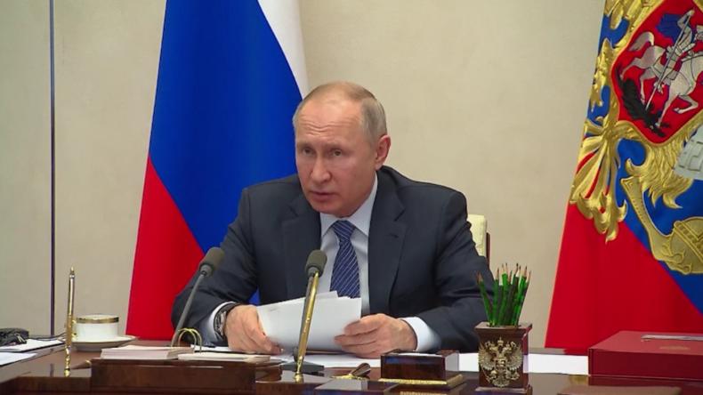 Putin zu Corona-Krise: Versorgung muss für alle frei von Handelskriegen und Sanktionen sein