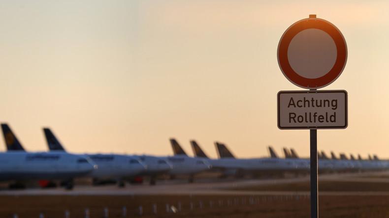 COVID-19 setzt Luftfahrtindustrie unter Druck – Umsatzeinbußen von 90 Prozent an deutschen Flughäfen