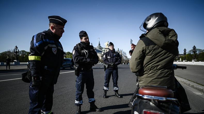 Frankreich: Polizeigewerkschaft droht Ausgangssperre nicht mehr durchzusetzen (Video)