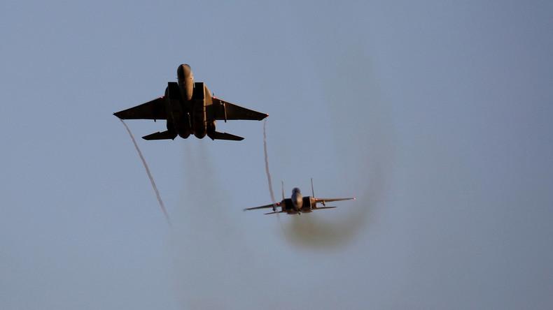 Israels Luftwaffe beschießt Hamas-Ziele nach Raketenangriff aus Gaza
