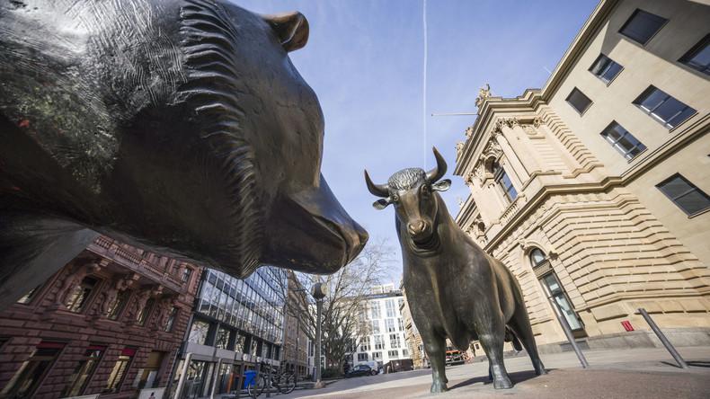 Zunehmende Wirtschaftseinbrüche durch die Corona-Krise sorgen weltweit für fallende Aktienkurse