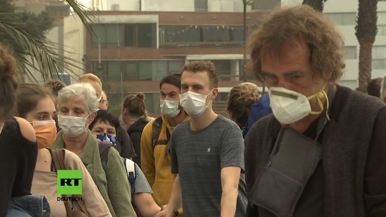 Corona-Epidemie: Erste Mundschutzpflicht in Deutschland (Video)