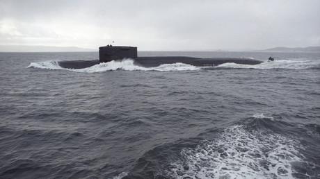 Sowjetisches Atom-U-Boot im Kalten Krieg