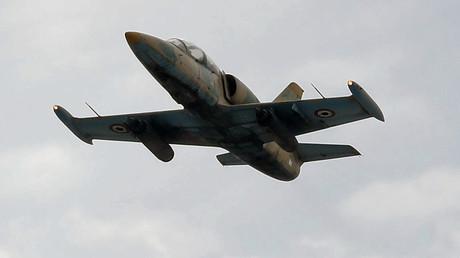 Ein Flugzeug vom Typ L-39 (Archivbild)