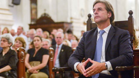 Uruguays neuer Präsident Luis Alberto Lacalle Pou mit