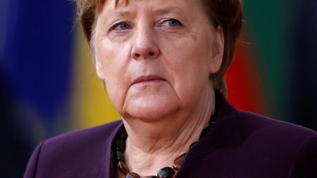Inselbegabung? Angela Merkel auf dem EU-Gipfel in Brüssel am 20. Februar.