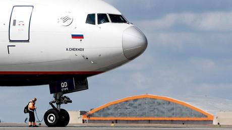 Vier russische Maschinen mussten an einem Tag zwischenlanden