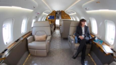 Im Privatjet mit dem eigenen Krankenpersonal zum Luxusbunker ans andere Ende der Welt fliegen – so gehen einige Superreiche durch die Corona-Krise (Symbolbild, Palexpo, Schweiz, 2019).