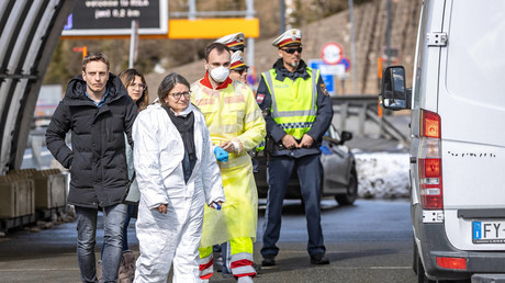Nach Brexit der Corexit: Reaktion auf Corona-Pandemie ist der letzte Nagel im Sarg der EU (Gesundheitskontrollen im österreichischen Brenner am Grenzübergang zu Italien. 11. März 2020)