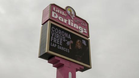 In Las Vegas reagiert man auf besondere Art und Weise auf die Ausrufung des nationalen Notstands in der Corona-Krise. (Bild vom 13. März)