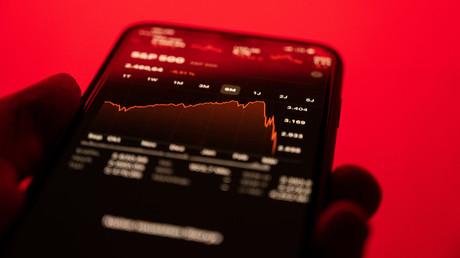 Kernschmelze an der Deutschen Börse: COVID-19 vernichtet Milliarden Euro. (Symbolbild)