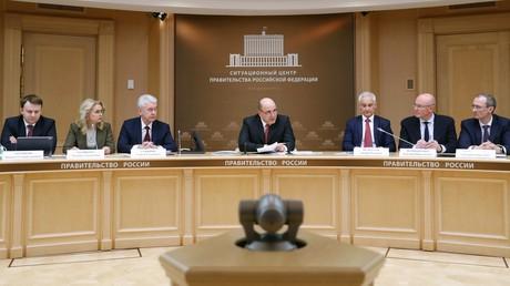Die erste Sitzung des Koordinierungsrates der russischen Regierung zur Bekämpfung der Ausbreitung von COVID-19 am 16.03.2020