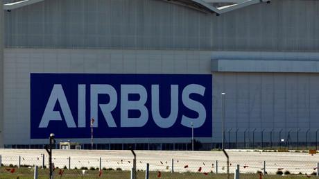 Airbus-Montagewerk in Sevilla, Südspanien