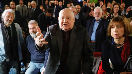 Michail Sergejewitsch Gorbatschow bei der Filmpremiere des Dokumentarfilms
