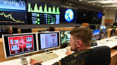 Zentrum Cyber-Operationen der Bundeswehr, Tomburg-Kaserne, Rheinbach, Deutschland,  4.11.2019.