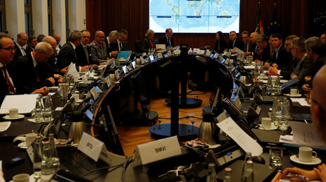 Symbolbild: Deutsches Innenministerium hält Sitzung der Krisenmanagement-Gruppe ab, 3. März 2020