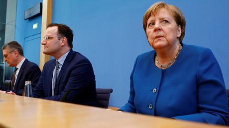 Erfolgreiche Krisenmanager? Bundeskanzlerin Angela Merkel und Gesundheitsminister Jens Spahn auf einer Pressekonferenz in Berlin am 11. März 2020