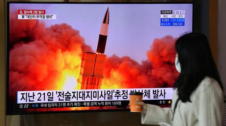 Nordkorea testet zwei Flugkörper