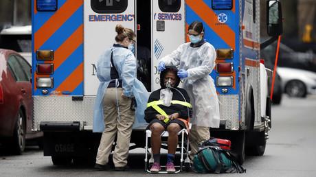 Das New Yorker Krankenhaussystem arbeitet angesichts der Corona-Krise am Limit