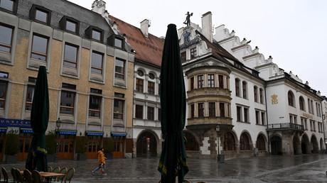 Stillstand in München im März 2020
