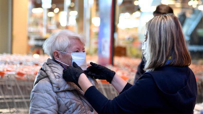 Österreich: Supermärkte beginnen mit Verteilung von Schutzmasken