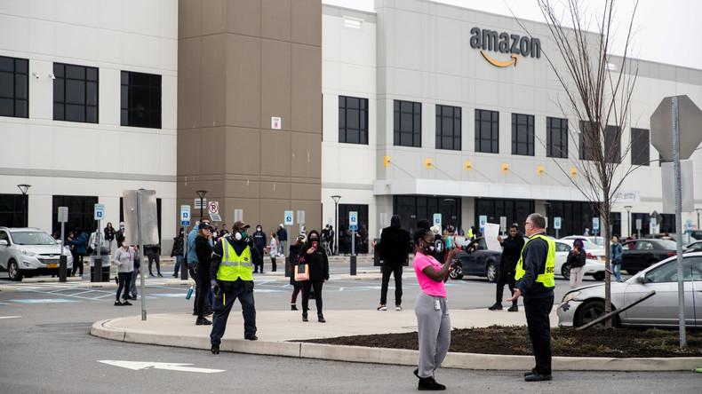 USA: Amazon-Arbeiter streiken für mehr Schutz gegen Coronavirus (Video)