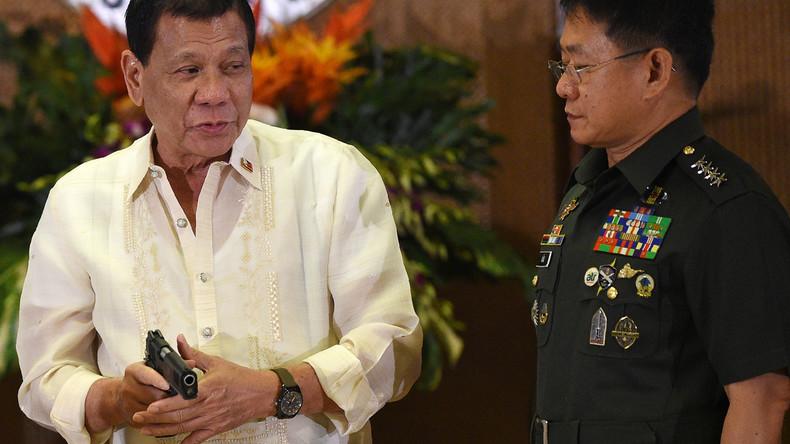 """""""Schießt sie tot"""": Philippinischer Präsident ordnet brutale Maßnahmen bei Quarantäne-Verstößen an"""