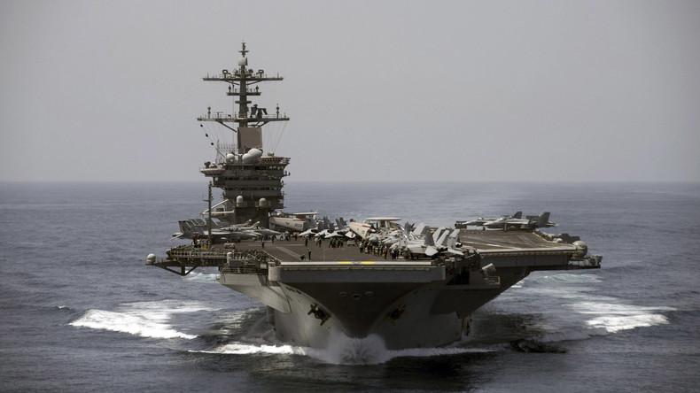 Coronavirus: US-Flugzeugträger wird evakuiert (Video)