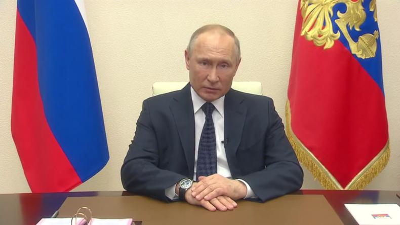 Wegen der Coronavirus-Pandemie: Putin verlängert bezahlten Urlaub bis Ende April