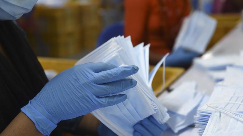 USA fangen Berliner Bestellung für Schutzmasken ab