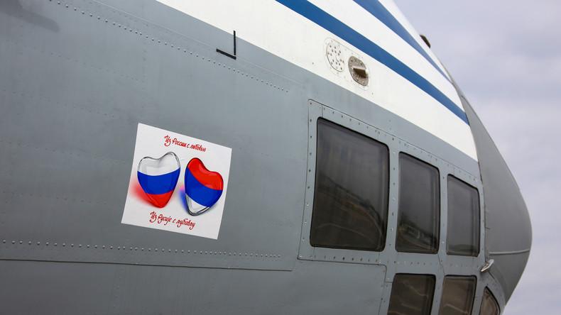 Nach Italien nun auch Hilfe für Serbien: Russland schickt Ärzte und Ausrüstung nach Belgrad