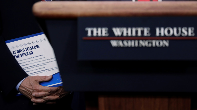Corona-Krise: Washington will eigenes Versagen mit Propagandakampagne auf China abwälzen