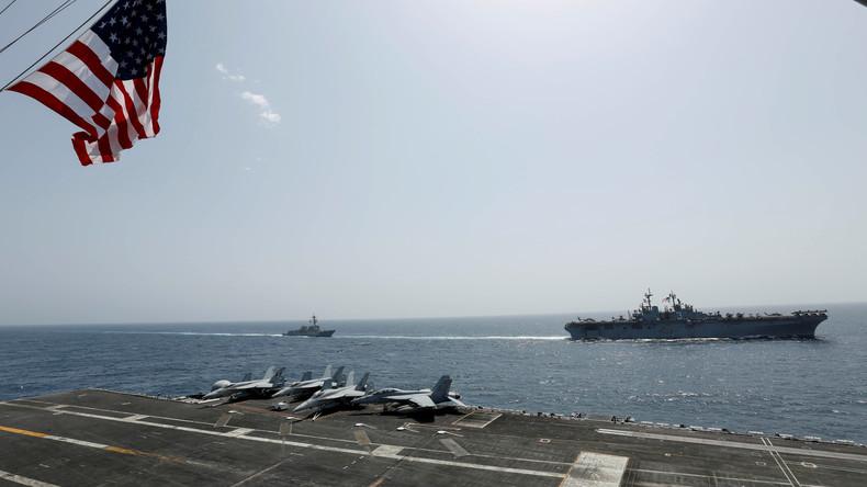 """Regime-Change um jeden Preis: USA schicken Kriegsschiffe für """"Antidrogeneinsatz"""" Richtung Venezuela"""