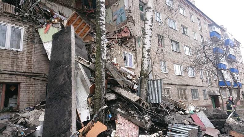 Gebiet Moskau: Mehrfamilienhaus stürzt nach Gasexplosion teilweise ein
