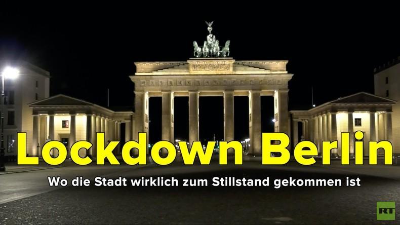 Lockdown Berlin - Wo die Stadt wirklich zum Stillstand gekommen ist (Video)